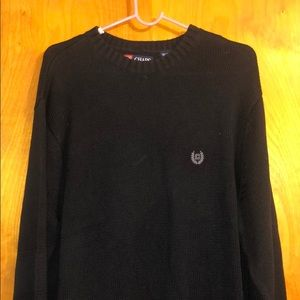Chaps XL Sweater with Ribbed Detail